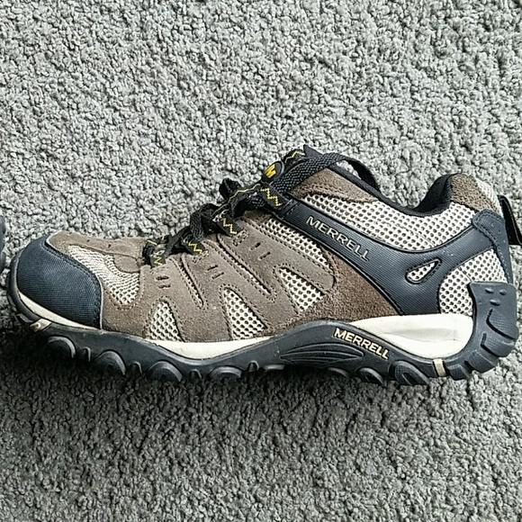 merrell walking shoes size 11 plus